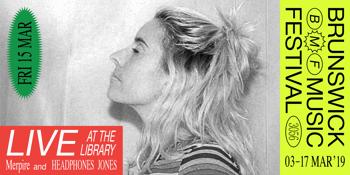 Live At The Library: Merpire + Headphones Jones