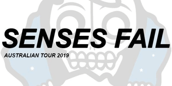 SENSES FAIL AUS TOUR 2019