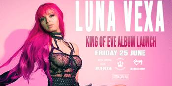 LUNA VEXA - King Of Eve Album Launch
