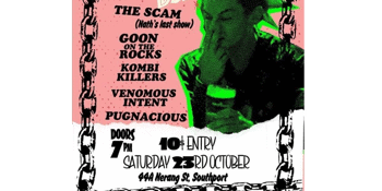 PUNK NIGHT! w/ Goon on the Rocks, The Scam & more!