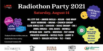 RTRFM Radiothon Party 2021