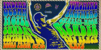 Sunshine Brothers, Charlie-Moon Meader and The Slack Keys LIVE