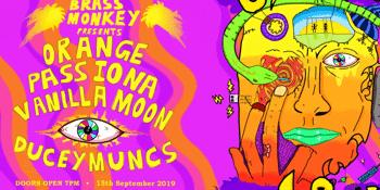 Orange Passiona + Vanilla Moon + Ducey Muncs