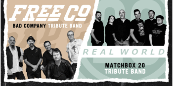 A tribute to Matchbox Twenty and Bad Company - performed live by Real World and Freeco