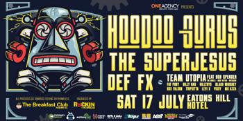 Hoodoo Gurus/The Superjesus/Def FX