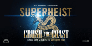 Superheist 'Crush The Coast' tour at Byron Bay
