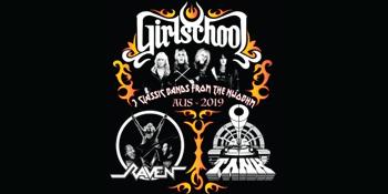 Girlschool + Raven + Tank