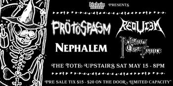 Protospasm/Nephalem Split Tape Launch
