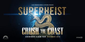 Superheist 'Crush The Coast' Tour at Brisbane