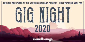 PBC Gig Night (7pm Show)