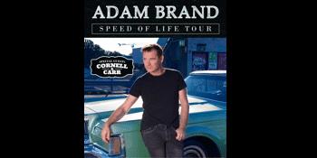 ADAM BRAND SPEED OF LIFE TOUR