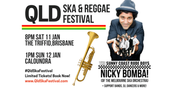 NICKY BOMBA & THE SUNNY COAST RUDE BOYS!