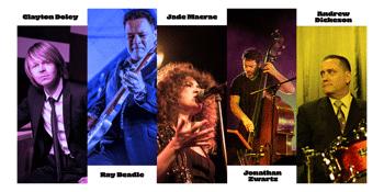 Ray Beadle, Jonathan Zwartz, Andrew Dickeson & Clayton Doley with Jade Macrae - Late Show