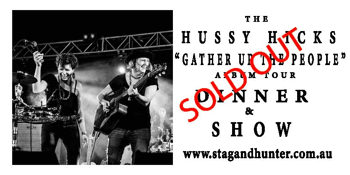 "The HUSSY HICKS 'Gather Up The People"" Album Tour"
