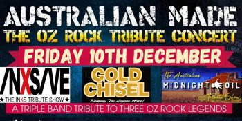 Australian Made - The Oz Rock Tribute Concert
