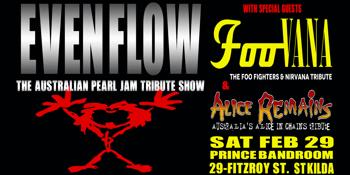 EVEN FLOW - The Australian Pearl Jam tribute show