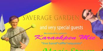 Toteally S'Average: S'Average Garden, Karaokpen Mic & Magic Steven