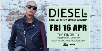 """CANCELLED - DIESEL - """"Greatest Hits & Sunset Suburbia Tour"""""""