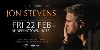 Jon Stevens - The Hits Tour