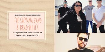 The Sheyana Band w/ Brad Gillies
