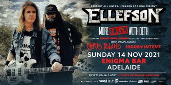 CANCELLED - DAVID ELLEFSON More Live with Deth Australian Tour