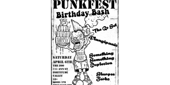 Punkfest Birthday Bash