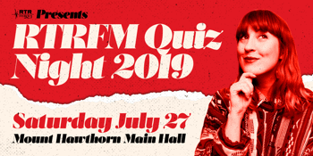 RTRFM Quiz Night 2019
