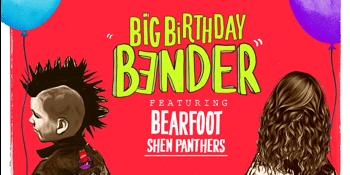 Solbar's Birthday Bender - Bearfoot