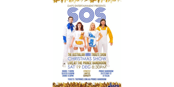 SOS: A TRIBUTE TO THE SONGS OF ABBA - CHRISTMAS SHOW