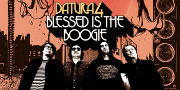 DATURA4 - 'Blessed Is The Boogie' Album launch