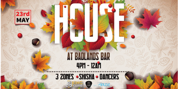 HOUSE • AUTUMN SUNDAY SESH