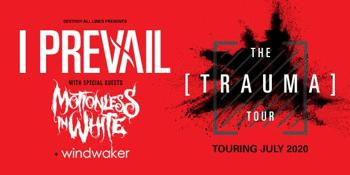 POSTPONED - I PREVAIL The Trauma Tour Australia 2020