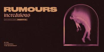 "Rumours ""Incredulous"" Single Release"