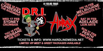 D.R.I (USA) & HIRAX (USA)