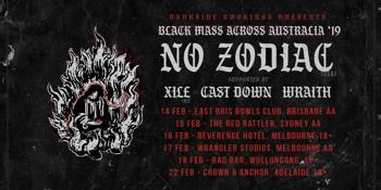 No Zodiac - Black Mass Across Australia, Melbourne AA