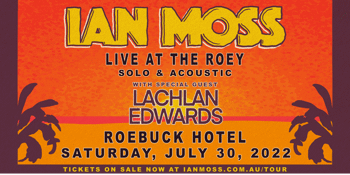 Ian Moss Live at The Roey