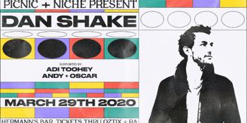 CANCELLED - Dan Shake (UK)