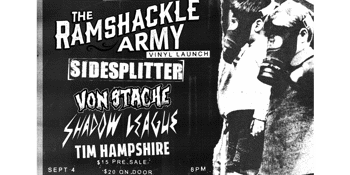 Ramshackle Army Vinyl Launch