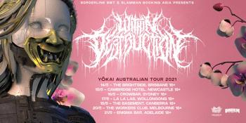 Within Destruction 'Yokai' Australian Tour