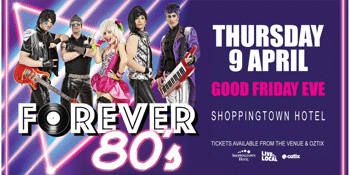 RESCHEDULED - FOREVER 80's
