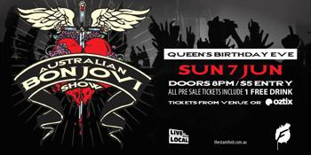 The Australian Bon Jovi Show - Queens Birthday Eve