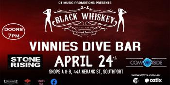 Black Whiskey, Stone Rising & Commonside