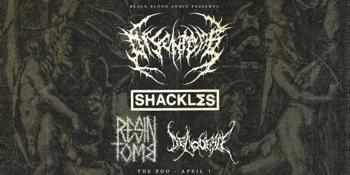 Disentomb, Shackles, Resin Tomb, & Deliquesce