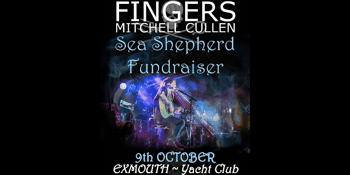 FINGERS Mitchell Cullen Sea Shepherd Fundraiser