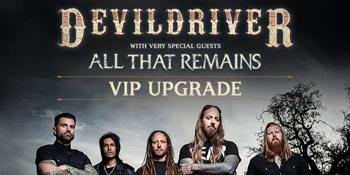 DevilDriver Australian Tour 2019 - VIP UPGRADE ONLY