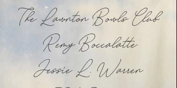 Lawnton Bowls Club, Remy Boccalatte, Jessie L Warren, TV Dreams & Swire