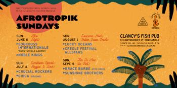 Afrotropik Sundays #3 - Lucky Oceans & The Creole Festival All-Stars