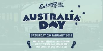 Embargo Australia Day 2019
