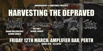 Harvesting The Depraved - Depravity Album Launch, The Harvest Trail Album Launch, Doomcave, Ashen, Furor