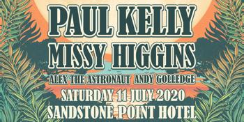 Paul Kelly & Missy Higgins